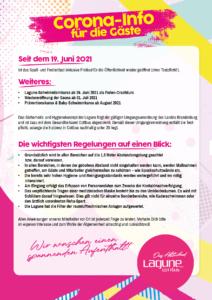 Corona Info 19.06.2021