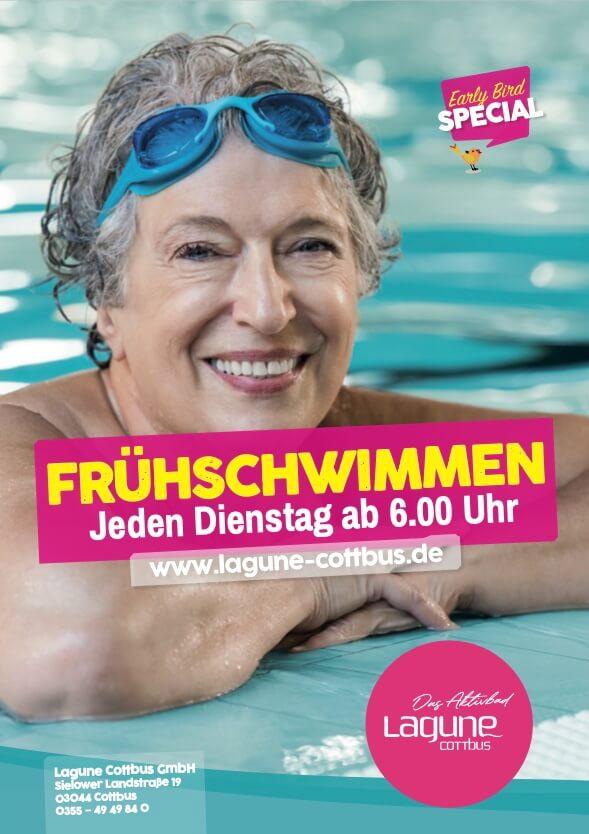 Lagune Cottbus - Frühschwimmen