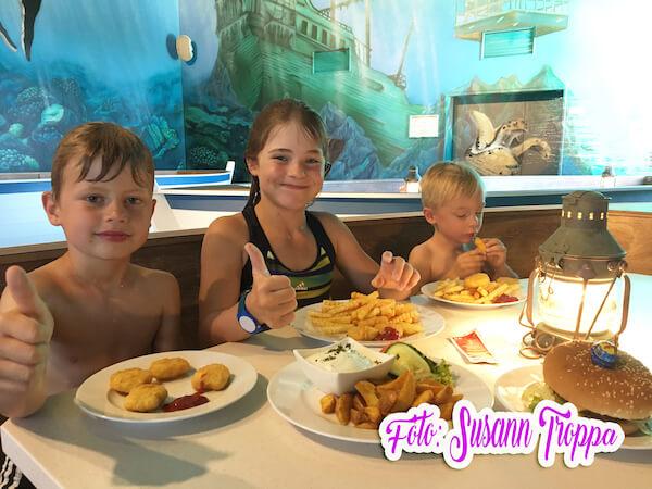 Lagune Cottbus - leckeres Menü zum Kindergeburtstag