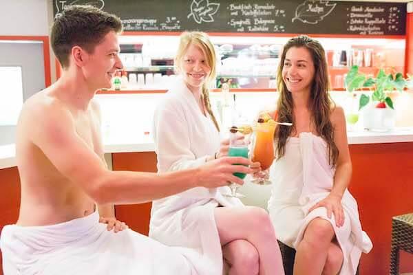 Lagune Cottbus - Drinks genießen