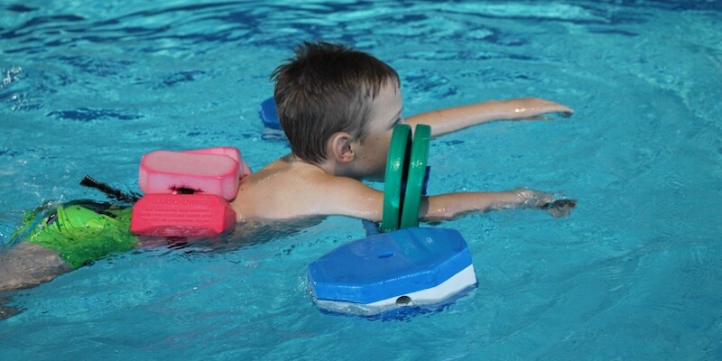 Lagune Cottbus - schwimmen lernen